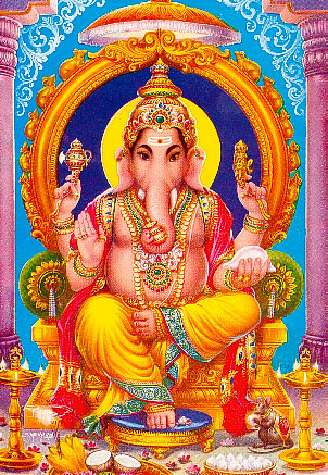 Hindouisme 2 Ganesh%20Trone%202
